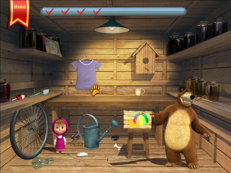 Поступила в продажу обучающая игра для детей в возрасте 3—6 лет Маша